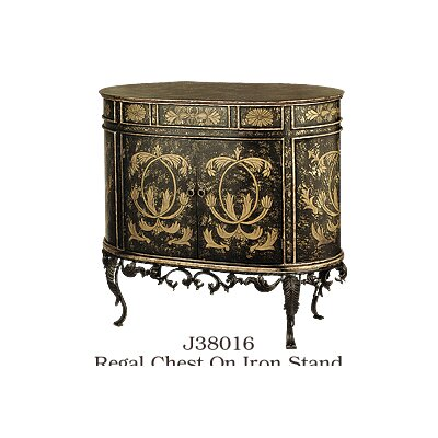 Regal 2 Door on Stand Accent Cabinet