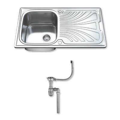 DIHL 91.5cm x 51.5cm Stainless Steel Kitchen Sink