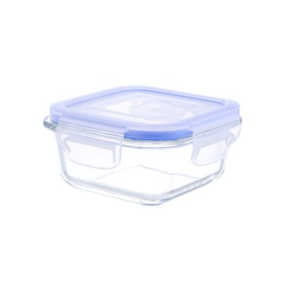 Go Green Glasslock Elements Square 10 Oz. Food Storage Container