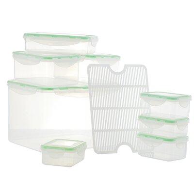 Al Dente Plastic 8 Container Food Storage Set