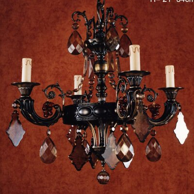 Martinez Y Orts 4 Light Candle Chandelier