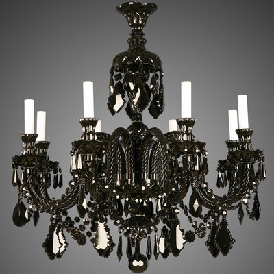 Martinez Y Orts 8 Light Crystal Chandelier