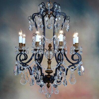 Martinez Y Orts 8 Light Crystal Chandelier