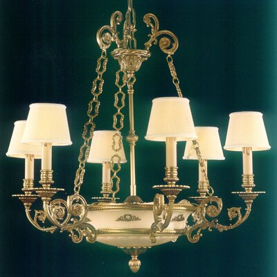 Martinez Y Orts 8 Light Candle-Style Chandelier