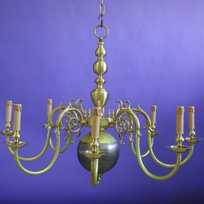 Martinez Y Orts 8 Light Candle Chandelier