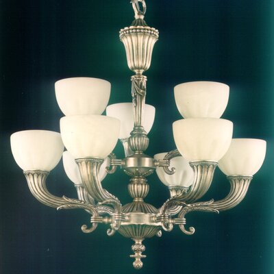 Martinez Y Orts Casted 9 Light Style Chandelier