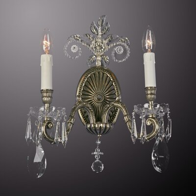 Martinez Y Orts 2 Light Candle Wall Light