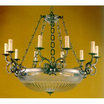 Martinez Y Orts 15 Light Crystal Chandelier