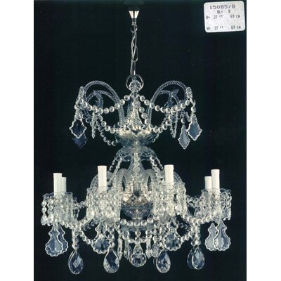 Martinez Y Orts Economic Big 8 Light Crystal Chandelier