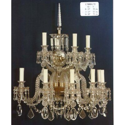 Martinez Y Orts 9 Light Candle Wall Light