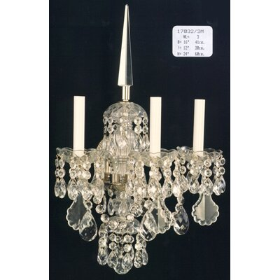 Martinez Y Orts 3 Light Candle Wall Light