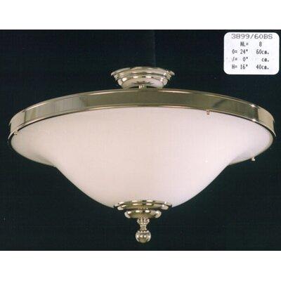 Martinez Y Orts 8 Light Semi-Flush Ceiling Light