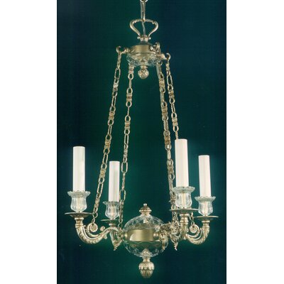 Martinez Y Orts Casted 4 Light Candle Chandelier