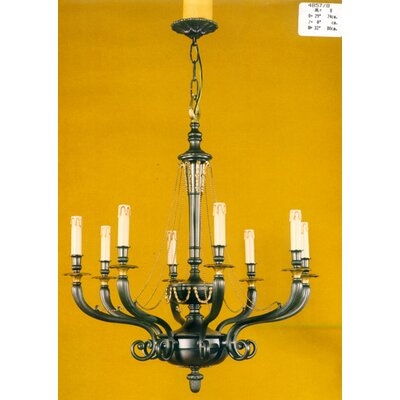 Martinez Y Orts Casted 8 Light Candle Chandelier