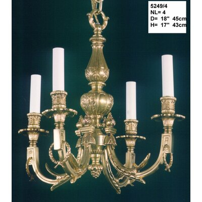 Martinez Y Orts Casted 4 Light Mini Chandelier
