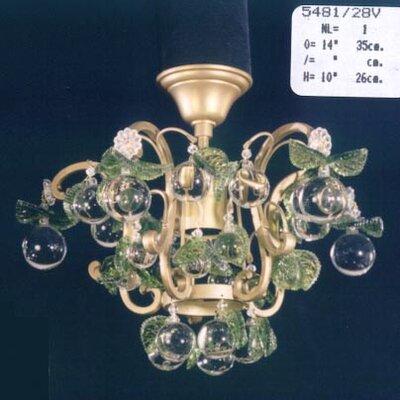 Martinez Y Orts 1 Light Mini Chandelier