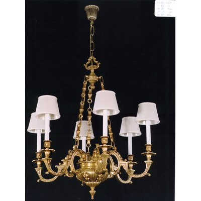 Martinez Y Orts 6 Light Chandelier
