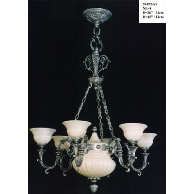 Martinez Y Orts Casted 8 Light Style Chandelier