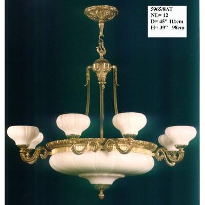 Martinez Y Orts 12 Light Style Chandelier