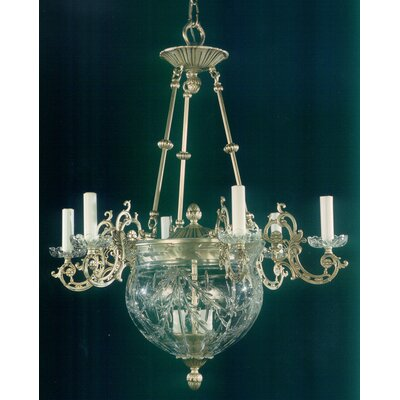 Martinez Y Orts 9 Light Crystal Chandelier