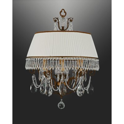 Martinez Y Orts Bohemia 4 Light Drum Chandelier