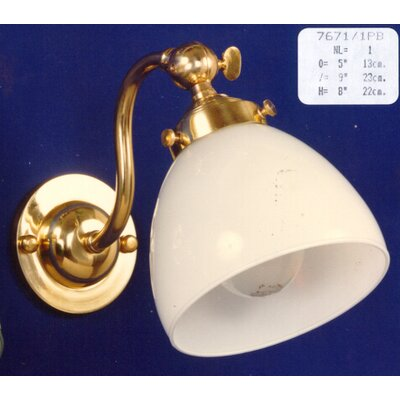 Martinez Y Orts Casted 1 Light Semi-Flush Wall Light