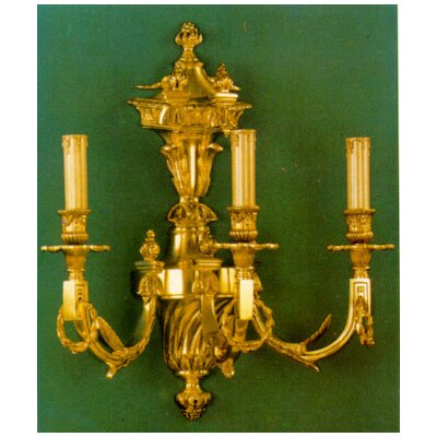 Martinez Y Orts Casted 3 Light Candle Wall Light