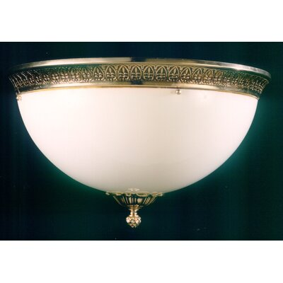 Martinez Y Orts 1 Light Flush Ceiling Light