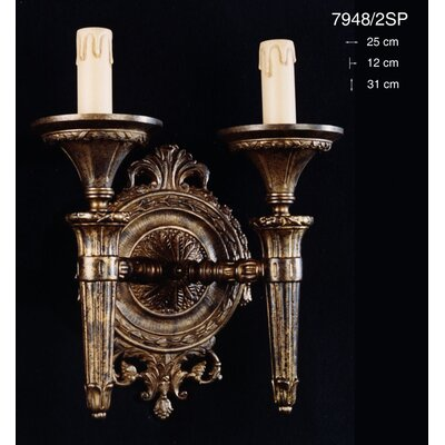 Martinez Y Orts Torchiers 2 Light Candle Wall Light