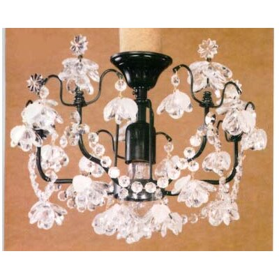 Martinez Y Orts Painted 1 Light Mini Chandelier