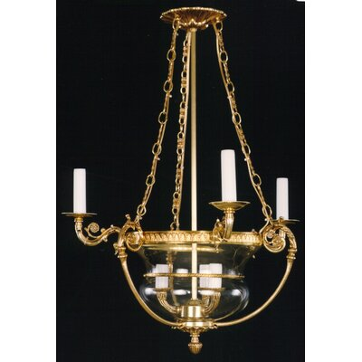 Martinez Y Orts 6 Light Candle Chandelier