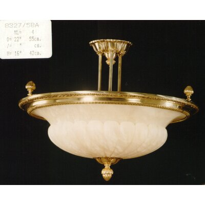 Martinez Y Orts 4 Light Semi-Flush Ceiling Light