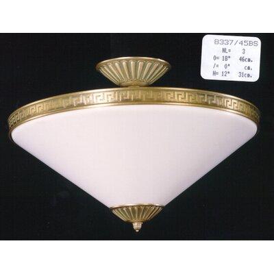 Martinez Y Orts Conic 3 Light Semi-Flush Ceiling Light