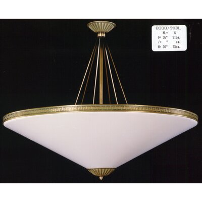 Martinez Y Orts Conic 6 Light Inverted Pendant