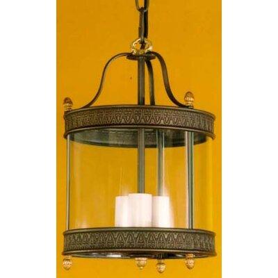 Martinez Y Orts Decorative 3 Light Outdoor Hanging Lantern