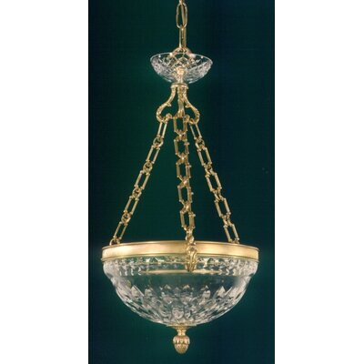 Martinez Y Orts Casted 3 Light Inverted Pendant