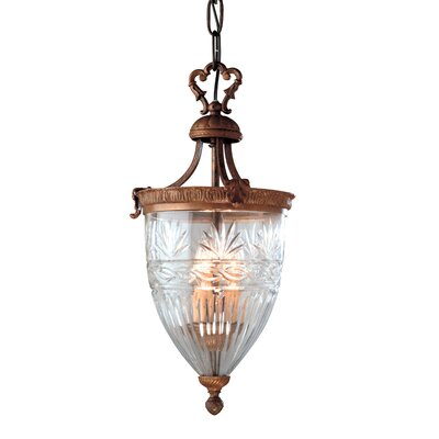 Martinez Y Orts 3 Light Inverted Pendant