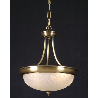 Martinez Y Orts 2 Light Inverted Pendant