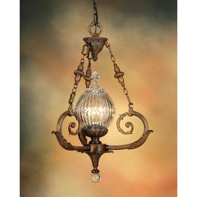 Martinez Y Orts Empire 4 Light Inverted Pendant