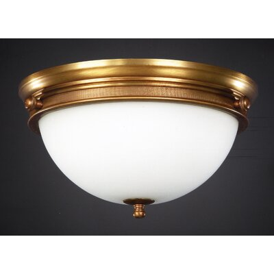 Martinez Y Orts 2 Light Flush Ceiling Light