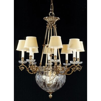 Martinez Y Orts 12 Light Crystal Chandelier