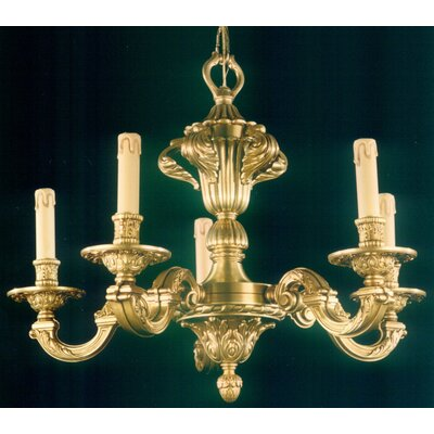 Martinez Y Orts 5 Light Candle Chandelier