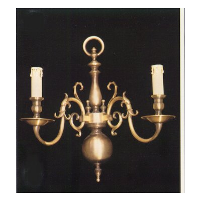 Martinez Y Orts Casted Plain 2 Light Candle Wall Light