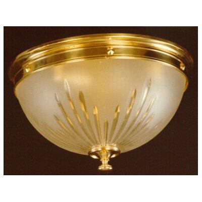 Martinez Y Orts 4 Light Flush Ceiling Light