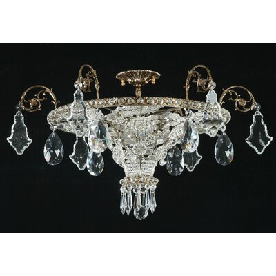 Martinez Y Orts 6 Light Crystal Chandelier