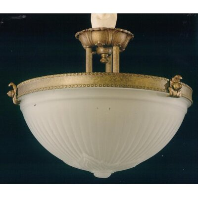 Martinez Y Orts 2 Light Semi-Flush Ceiling Light