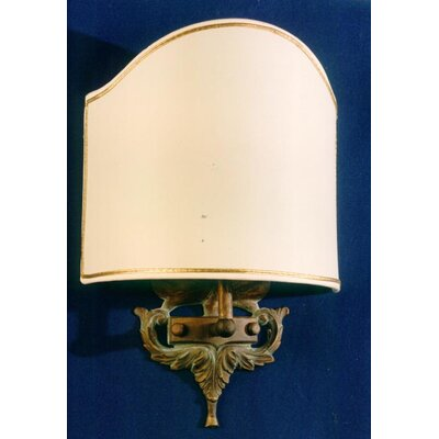 Martinez Y Orts Casted 1 Light Flush Wall Light