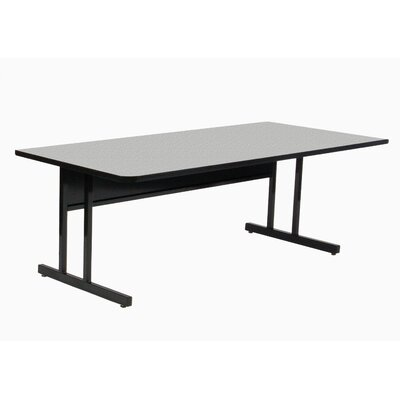 "Training Table with Modesty Panel Size: 26"" H x 60"" W x 24"" D"