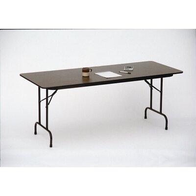 Rectangular Folding Table Size: 30 x 60, Top Finish: Gray Granite