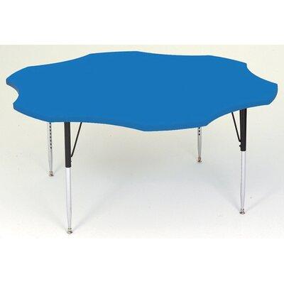 """60"""" x 60"""" Novelty Activity Table Leg Type: Short Leg, Tabletop Finish: Black"""